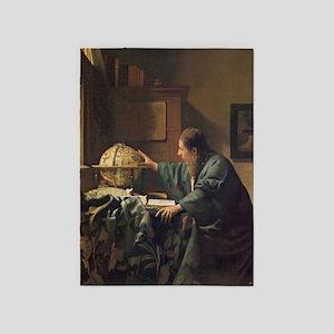 Vermeer 5'x7'Area Rug