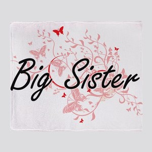 Big Sister Artistic Design with Butt Throw Blanket