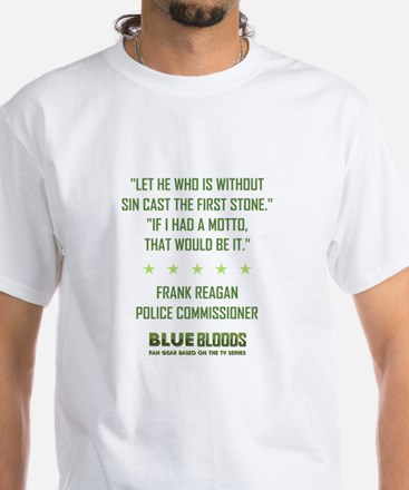 LET HE WHO IS... White T-Shirt