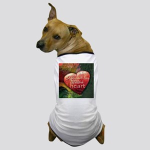 Begin Each Day Dog T-Shirt