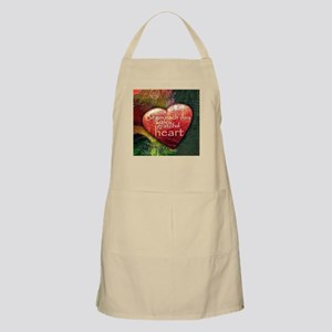 Begin Each Day Apron