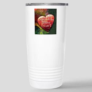 Begin Each Day Travel Mug