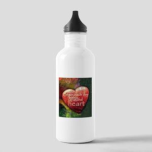 Begin Each Day Water Bottle