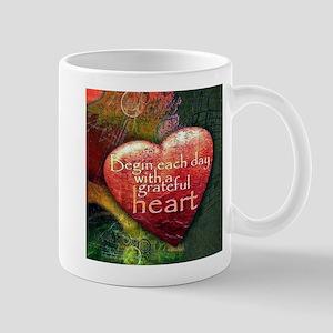 Begin Each Day Mugs