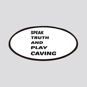 Speak Truth And Play Caving Patch