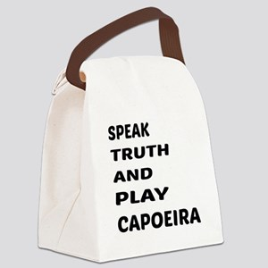 Speak Truth And Play Capoeira Canvas Lunch Bag