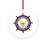 NRD Columbia Ornament (Round)