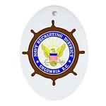 NRD Columbia Oval Ornament