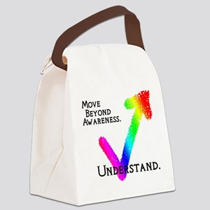 Understanding Autism Canvas Lunch Bag