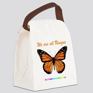 monarch_autism Canvas Lunch Bag