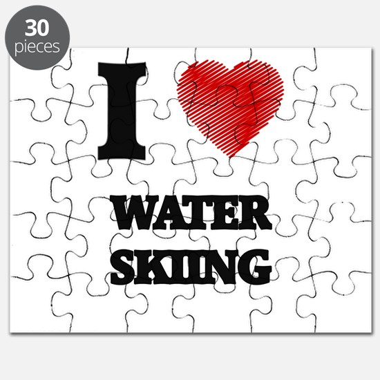 I love Water Skiing Puzzle