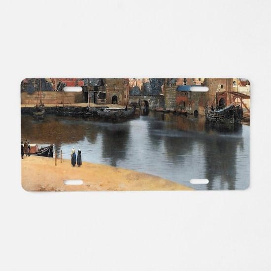 Vermeer Delft Aluminum License Plate