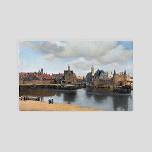 Vermeer Delft Area Rug