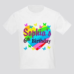 PERSONALIZED 6TH Kids Light T-Shirt