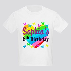 PERSONALIZED 6TH Kids Light T Shirt