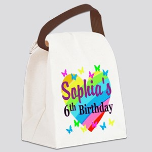 PERSONALIZED 6TH Canvas Lunch Bag