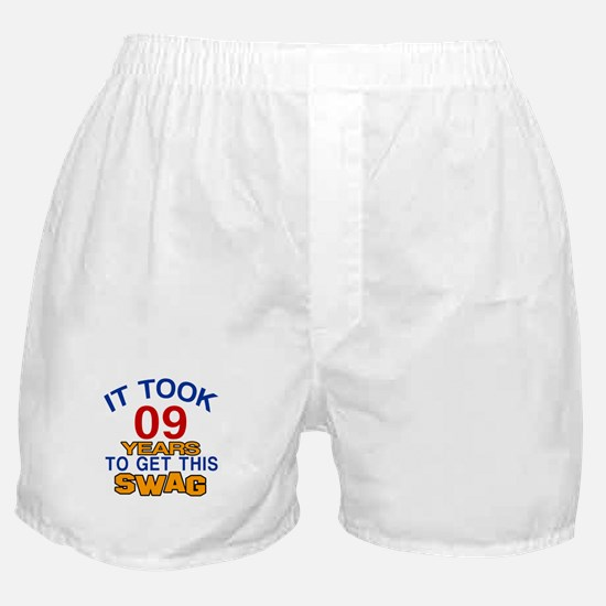 It Took 09 Years To Get This Swag Boxer Shorts