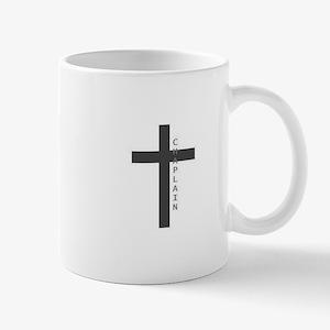 Chaplain Black Grey Mugs