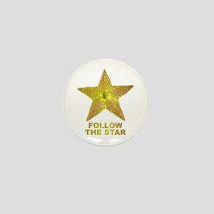 follow the star Mini Button