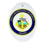 NRD Miami Oval Ornament