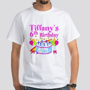 PERSONALIZED 6TH White T-Shirt