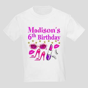 PERSONALIZED 6TH Kids Light T-Shirt