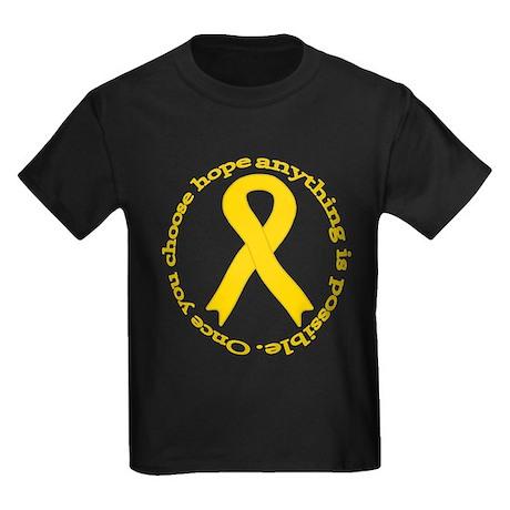 Gold Hope Kids Dark T-Shirt