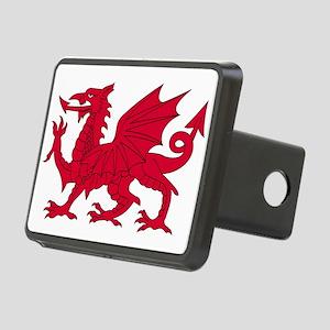 Welsh Dragon Rectangular Hitch Cover