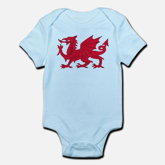 Welsh Dragon Infant Bodysuit