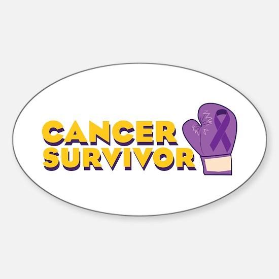 Cancer Survivor Decal