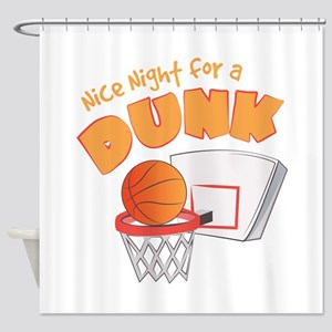 Nice Dunk Shower Curtain