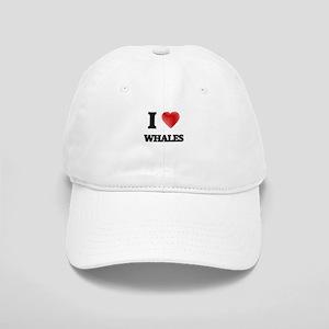 I love Whales Cap