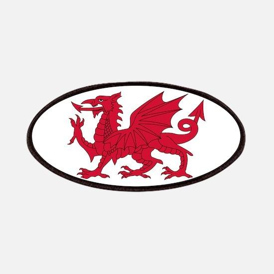 Welsh Dragon Patch