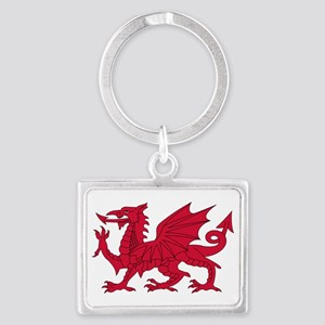 Welsh Dragon Keychains