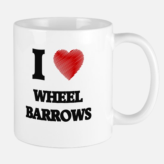 I love Wheel Barrows Mugs