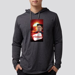 Kim Jong Un - Hashtag Dotard N Long Sleeve T-Shirt