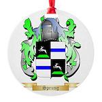 Sprung Round Ornament