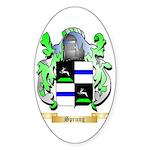 Sprung Sticker (Oval 50 pk)