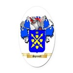 Sproutt Oval Car Magnet