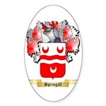 Springall Sticker (Oval)
