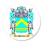 Spraye Round Car Magnet