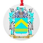 Spray Round Ornament