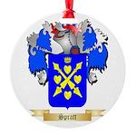 Spratt Round Ornament