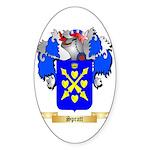 Spratt Sticker (Oval 10 pk)