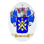 Spratt Oval Ornament
