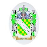 Sprake Oval Ornament