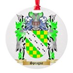 Sprague Round Ornament