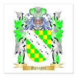 Sprague Square Car Magnet 3
