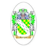 Sprague Sticker (Oval 50 pk)