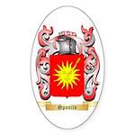 Sposito Sticker (Oval 50 pk)